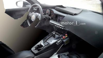 Porsche 992 habitacle