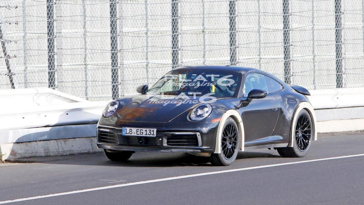 Porsche 992 safari 3