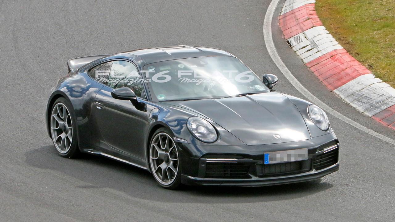 Porsche 992 sport classic nurburgring