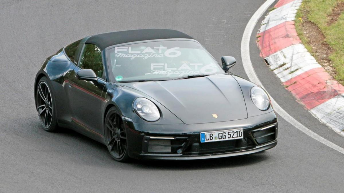 Porsche 992 targa 4 gts