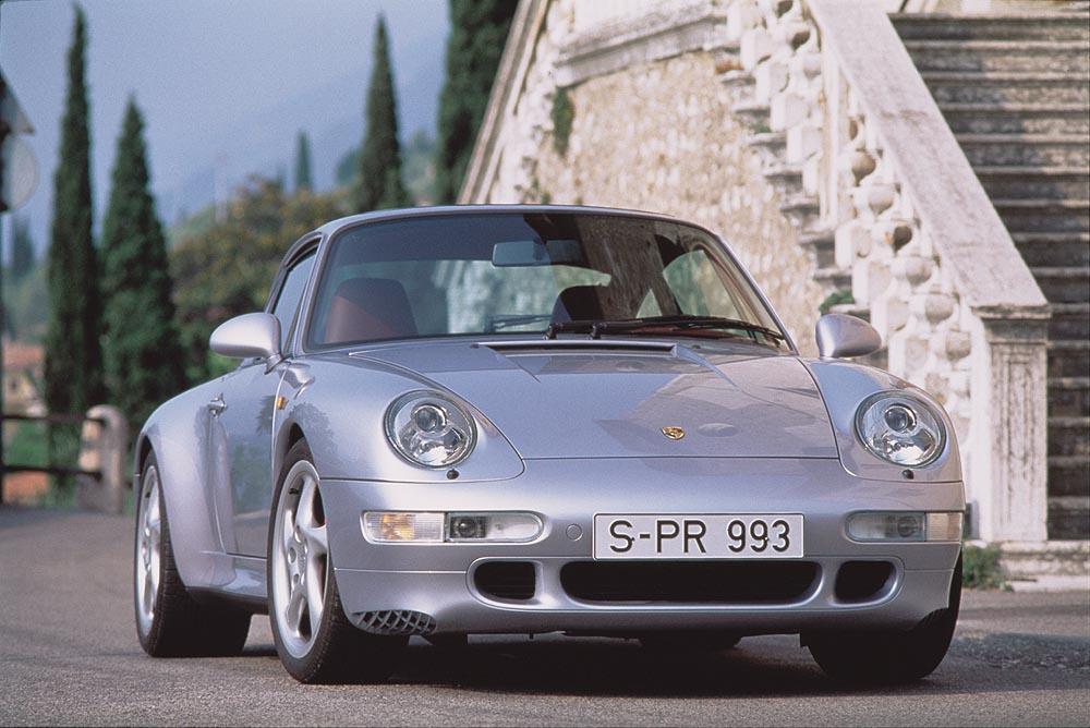 Porsche 993 carrera 4s gris face