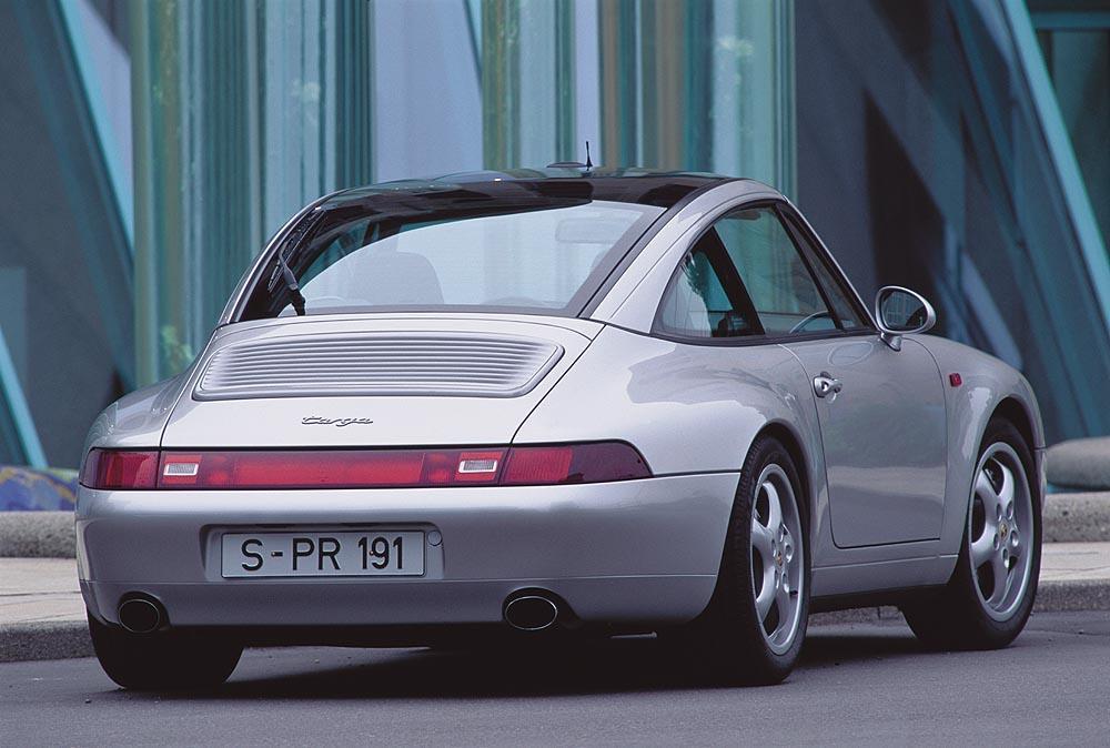 Porsche 993 targa grise