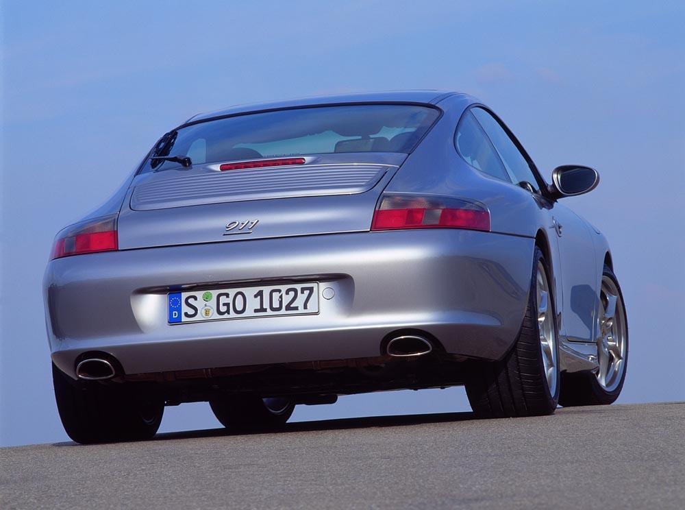 Porsche 996 40 jahre anniversaire arriere