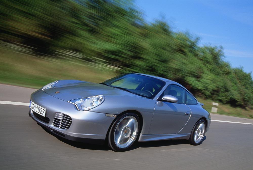 Porsche 996 40 jahre anniversaire avant dynamique