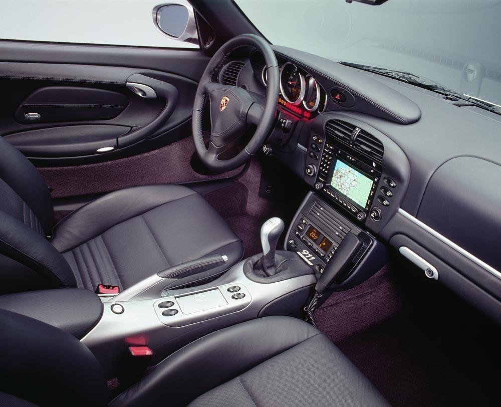 Porsche 996 40 jahre anniversaire interieur