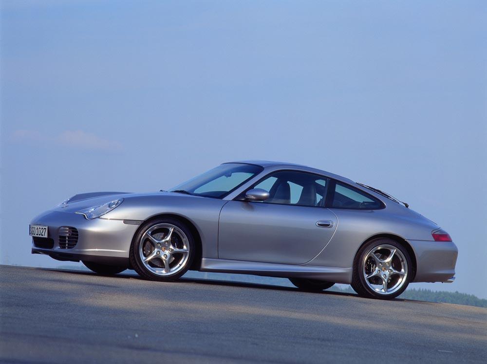 Porsche 996 40 jahre anniversaire profil