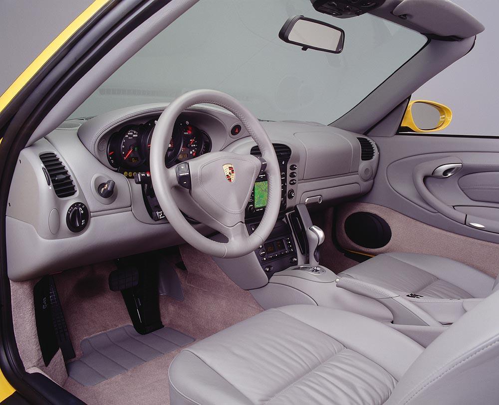 Porsche 996 cabriolet interieur