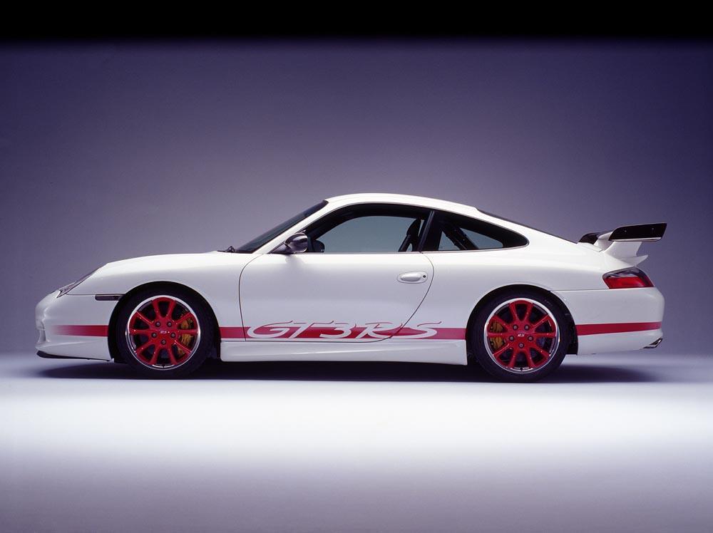 Porsche 996 gt3 rs profil
