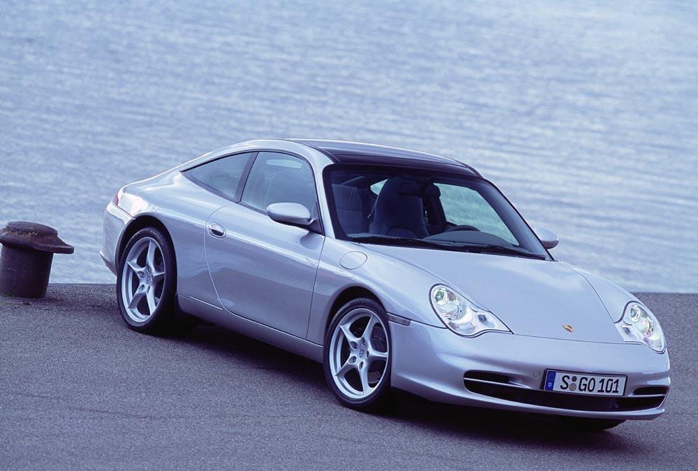 Porsche 996 targa grise
