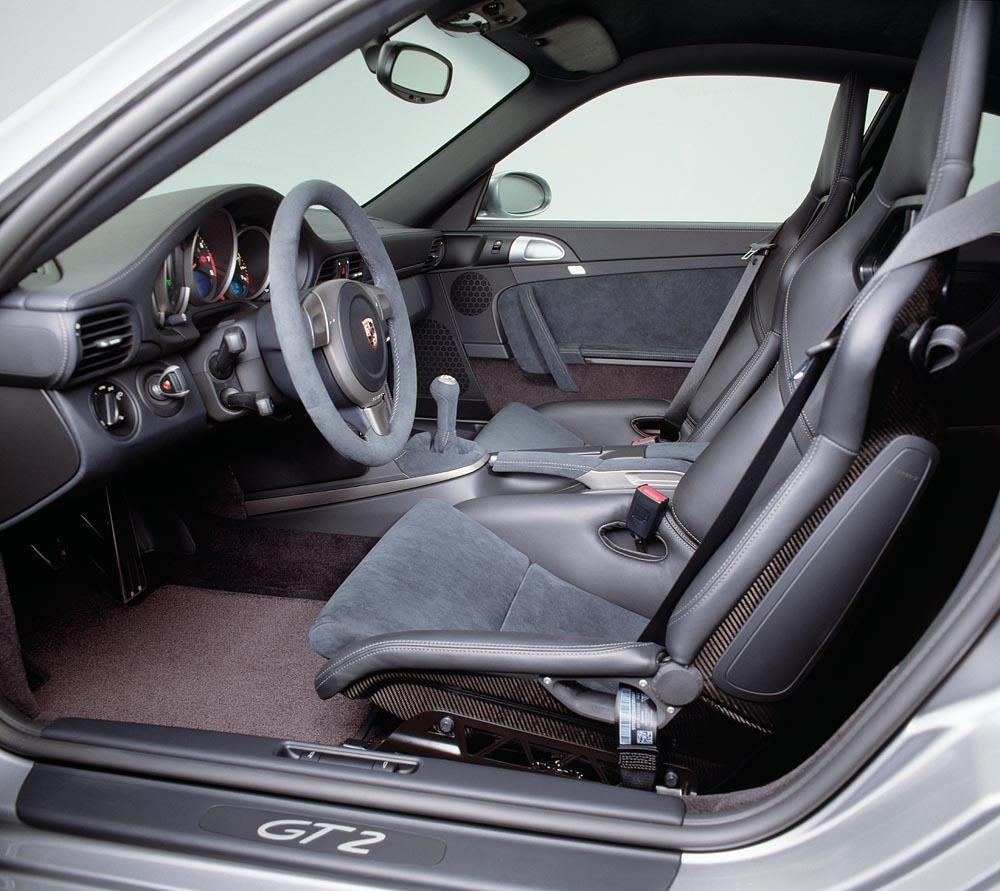 Porsche 997 gt2 interieur