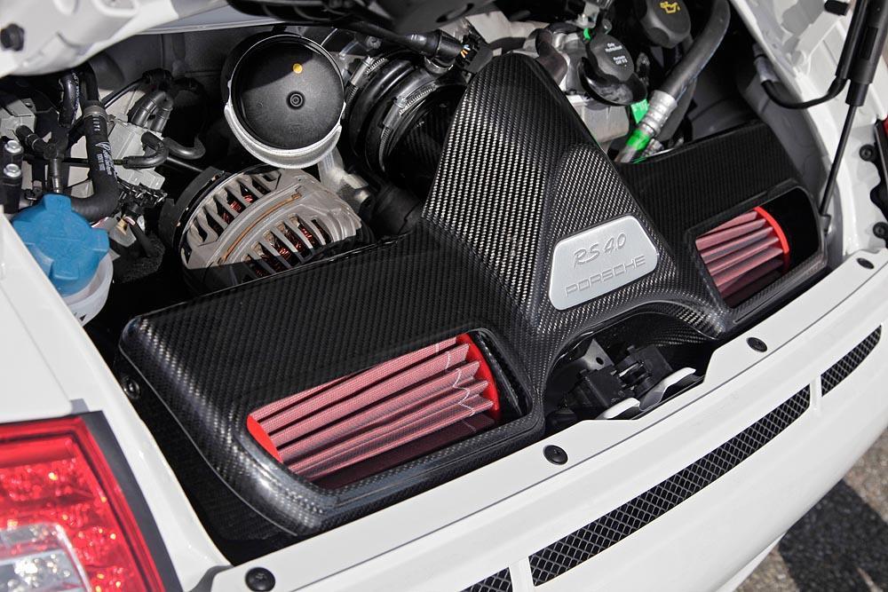 Porsche 997 gt3 rs 4 0 engine
