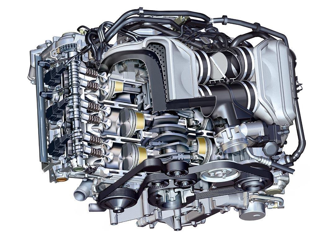 Porsche 997 phase 1 moteur
