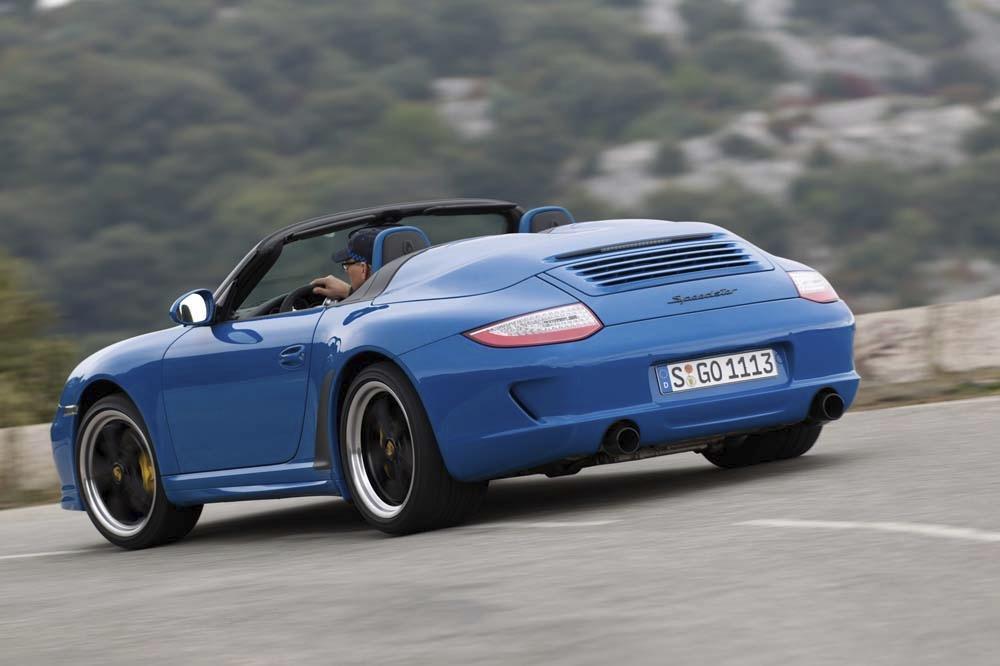 Porsche 997 speedster 1