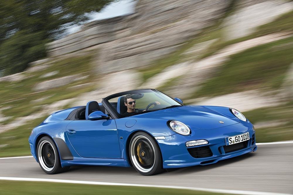 Porsche 997 speedster avant
