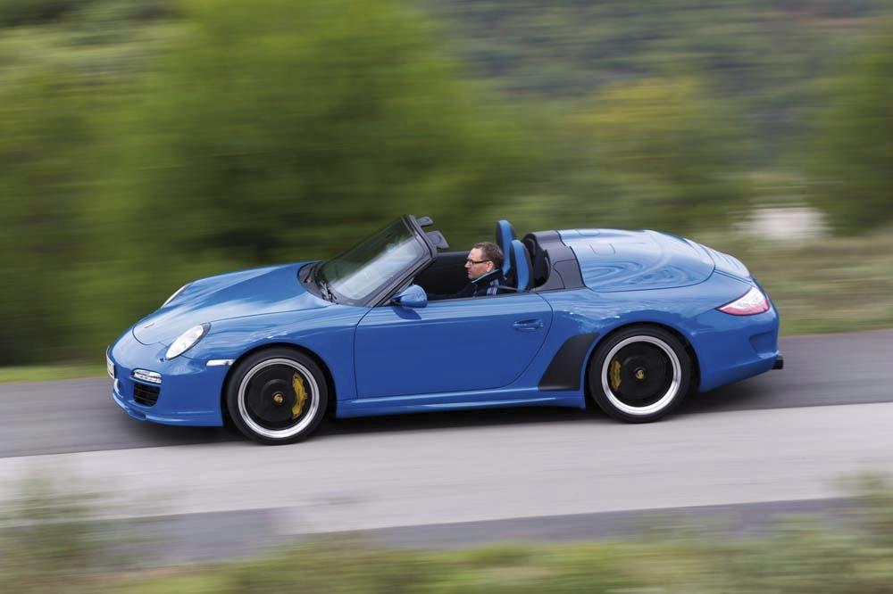 Porsche 997 speedster couleur