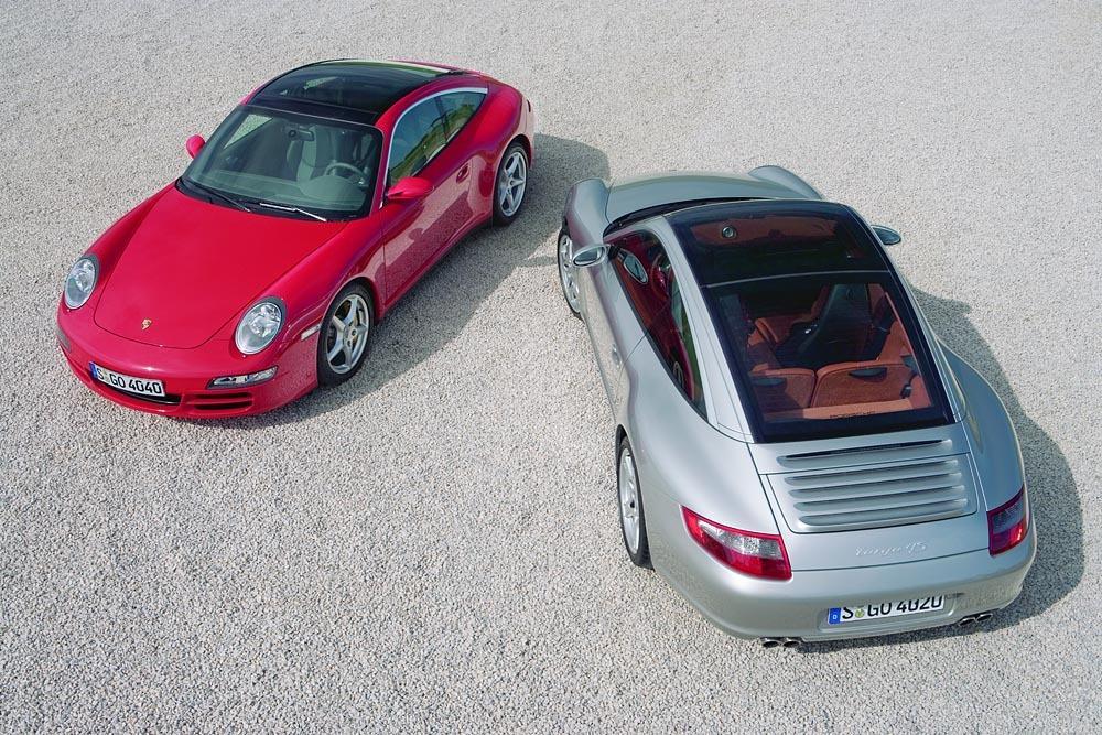 Porsche 997 targa 1