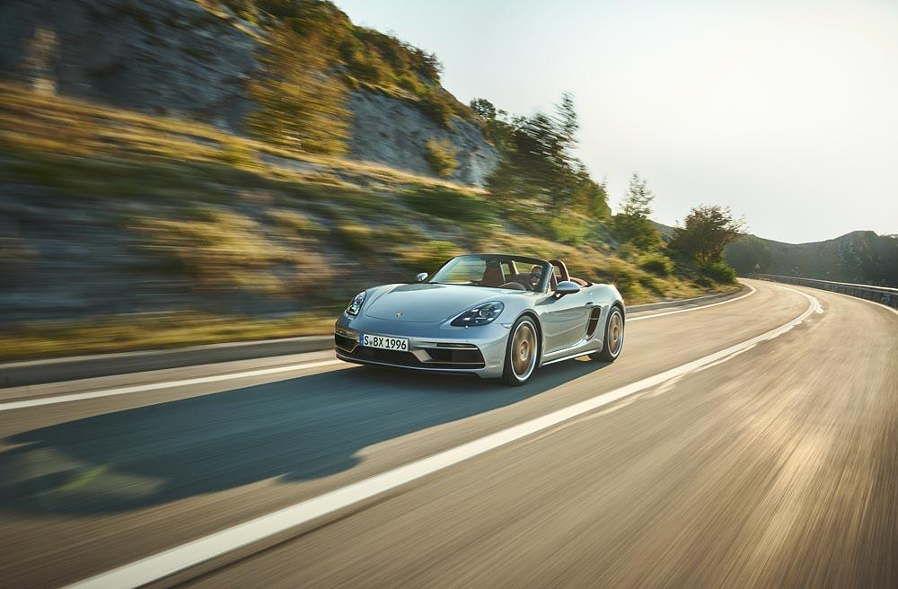 Porsche boxster 25 years 2