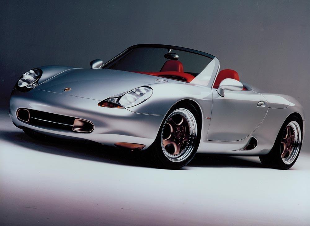 Porsche boxster concept 2
