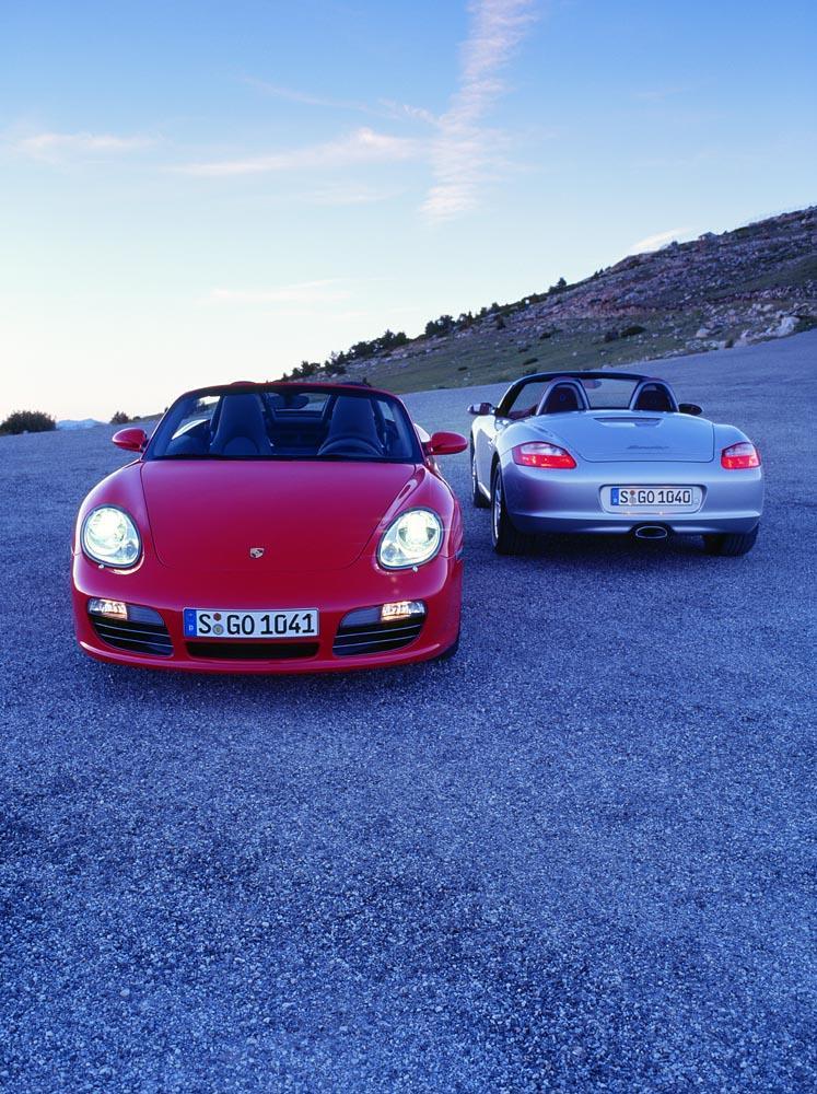 Porsche boxster et boxster s ph 1