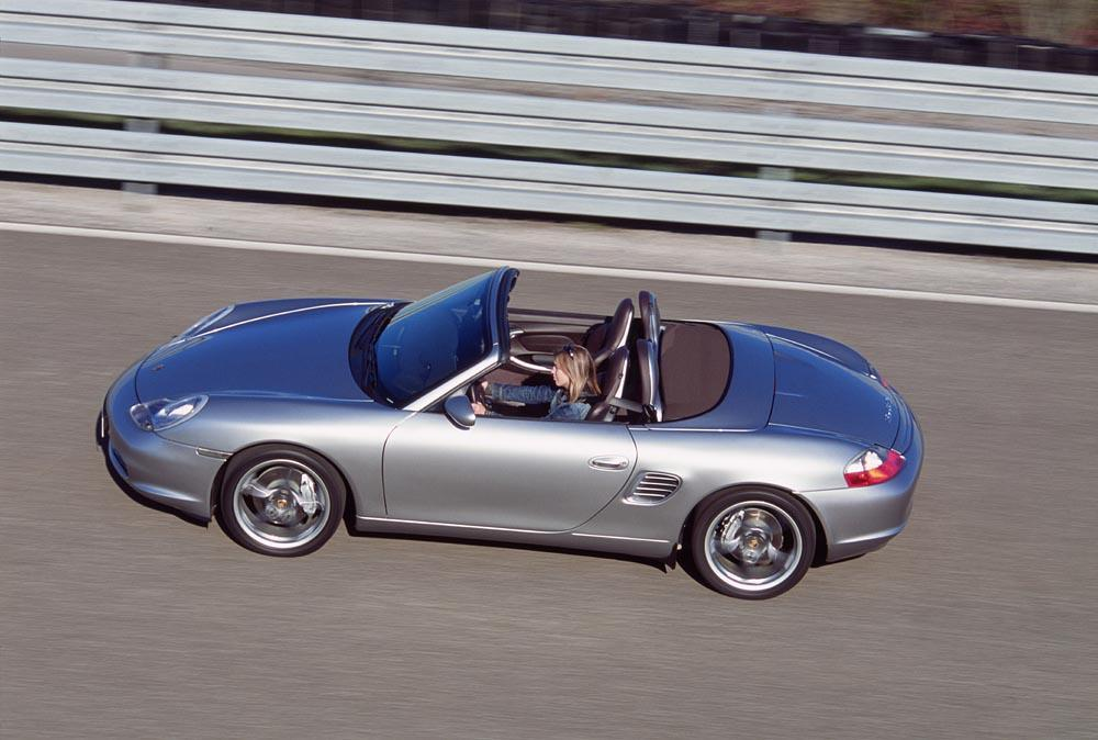 Porsche boxster s 550