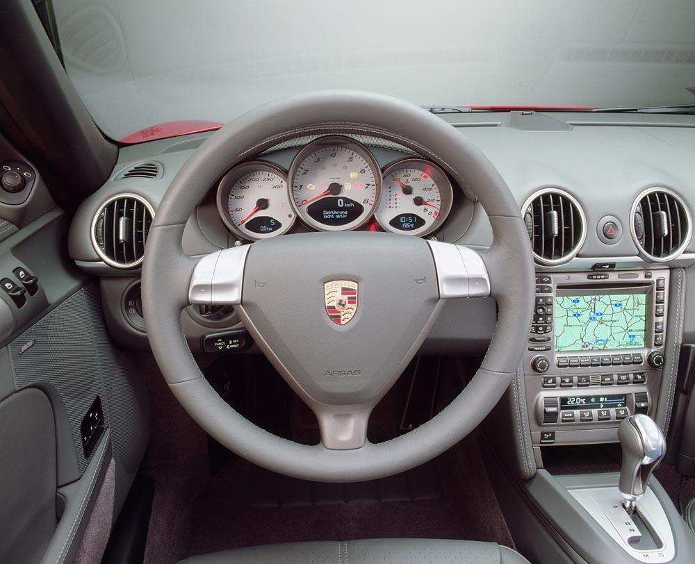 Porsche boxster s interieur