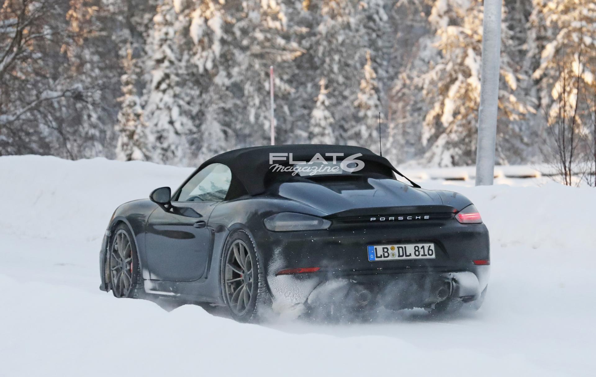 Porsche boxster spyder 13