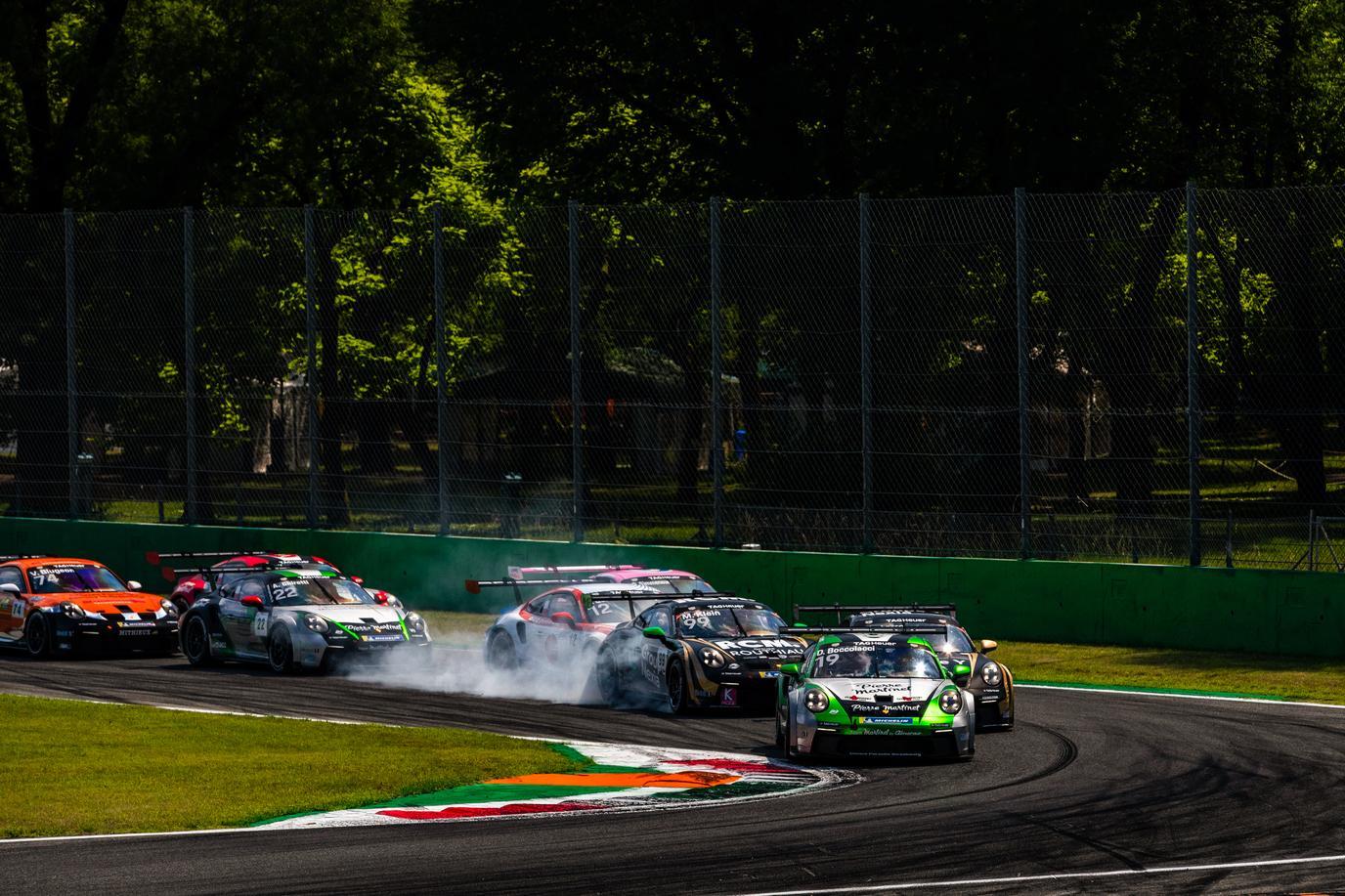 Porsche carrera cup france monza porsche 911 gt3 cup