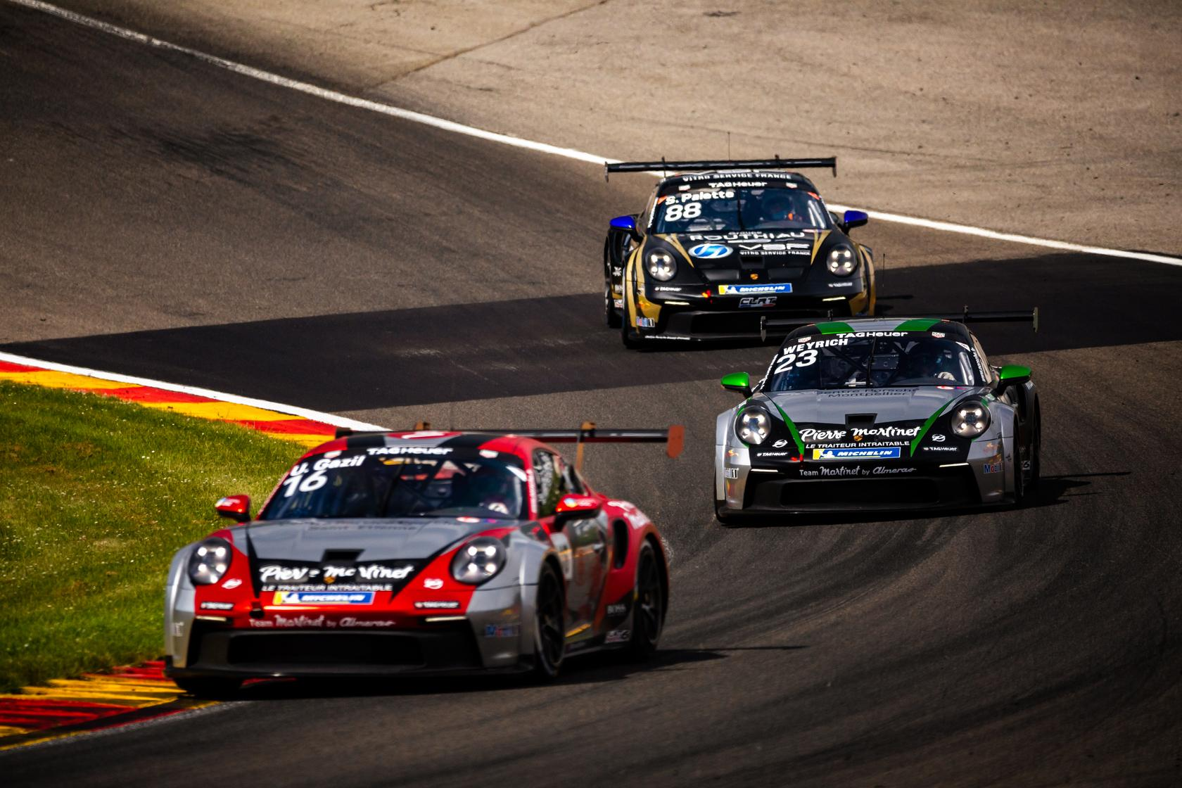 Porsche carrera cup france spa 2021 2