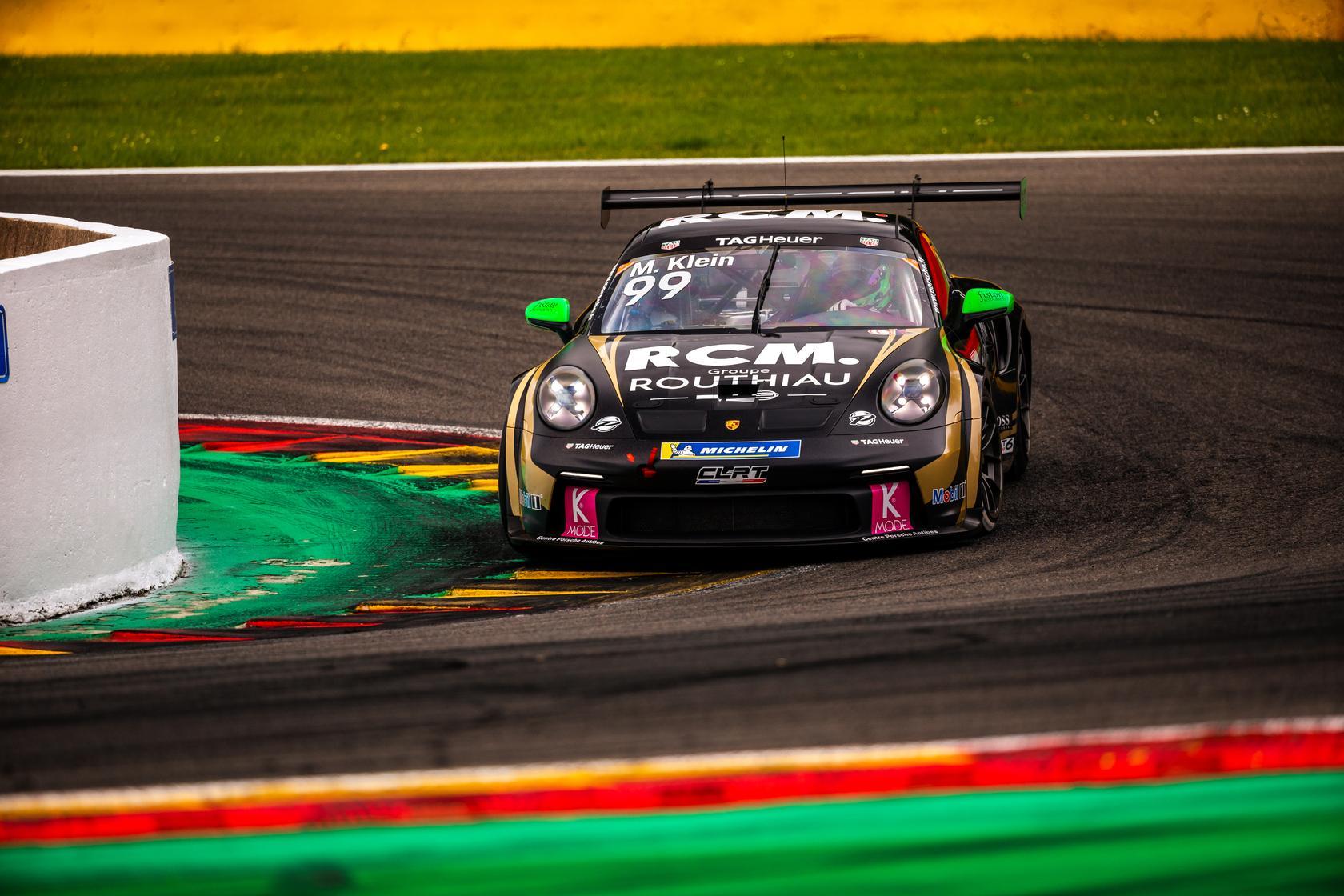 Porsche carrera cup france spa 2021 3