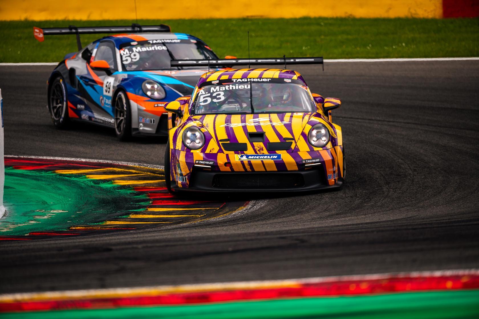 Porsche carrera cup france spa 2021 4