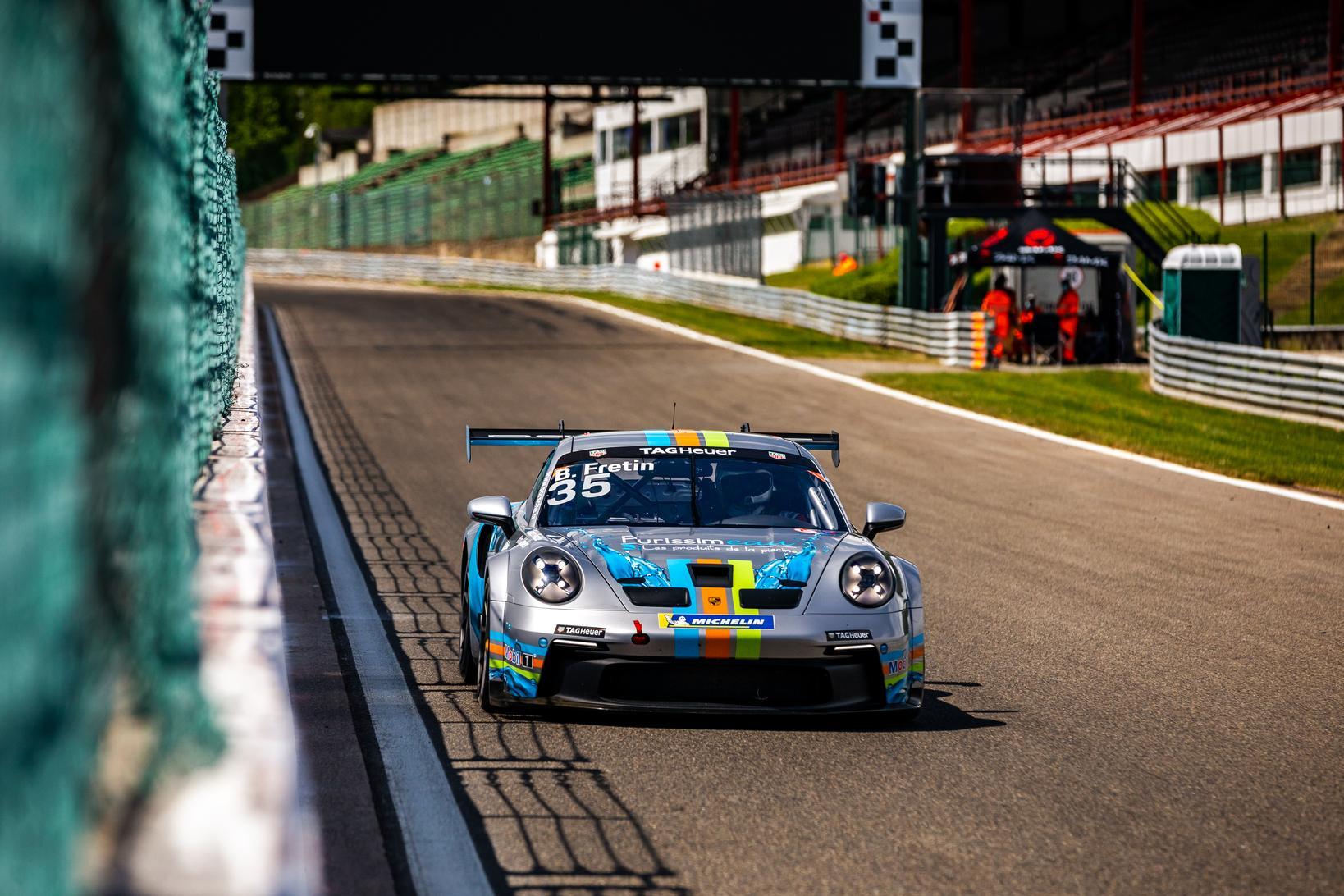 Porsche carrera cup france spa 2021