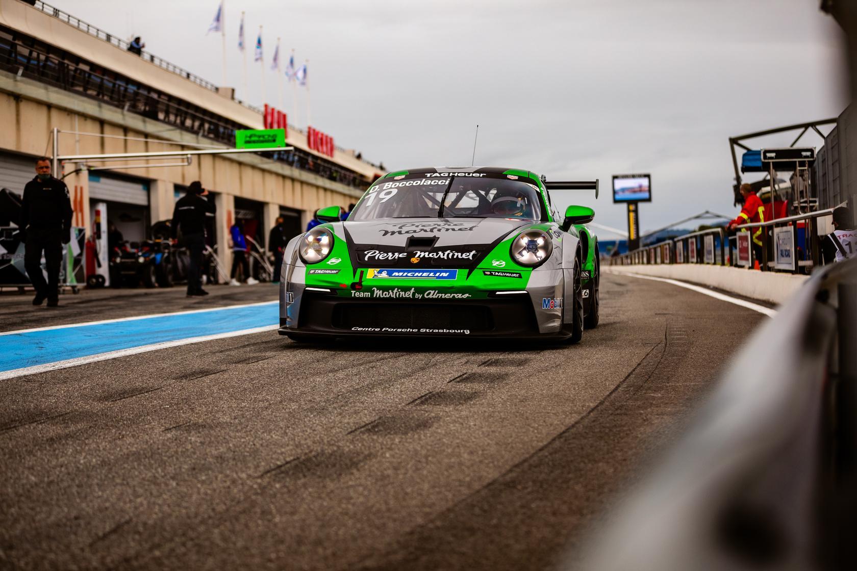 Porsche carrera cup magny cours