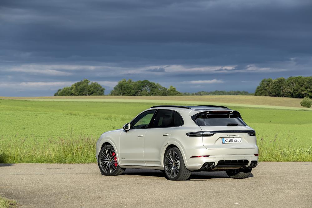 Porsche cayenne beige cachemire