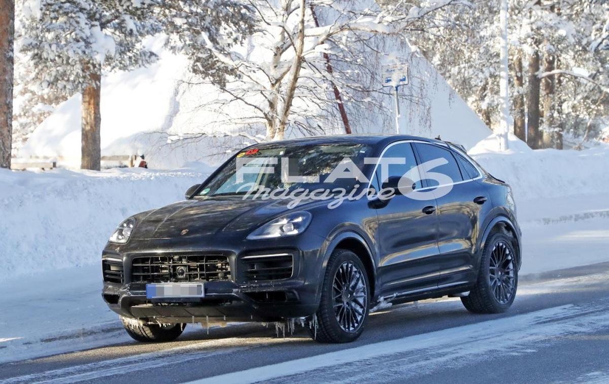 Porsche cayenne coupe winter 2 2