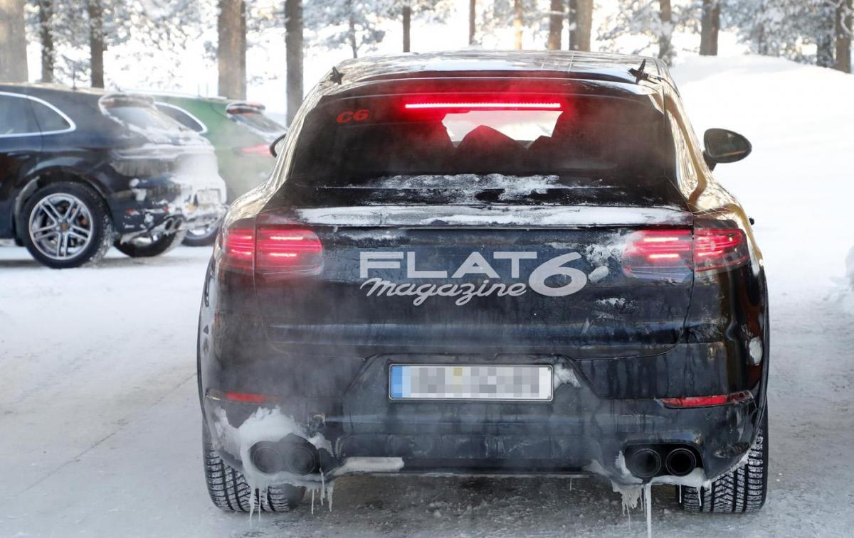 Porsche cayenne coupe winter 34 2