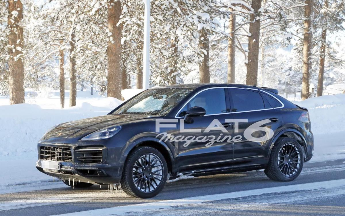 Porsche cayenne coupe winter 4 2