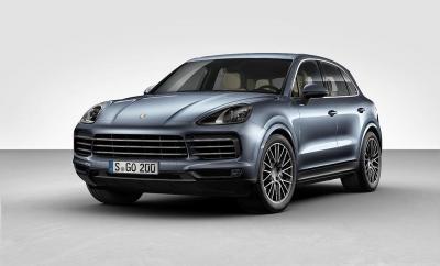 Porsche cayenne s 2018 front