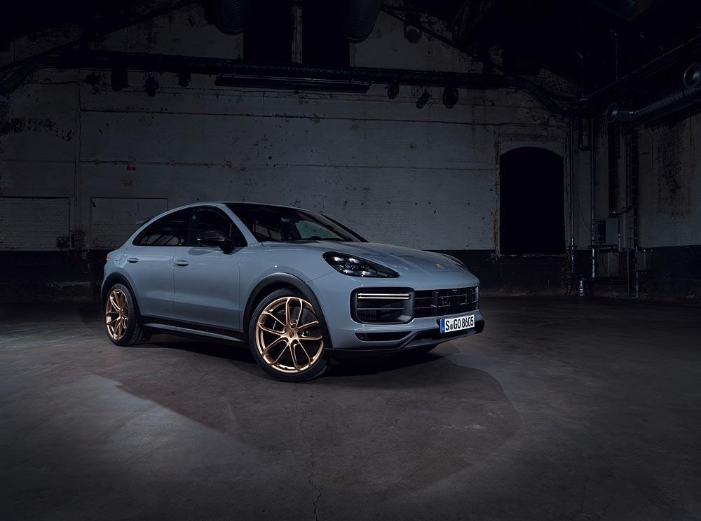 Porsche cayenne turbo gt 5
