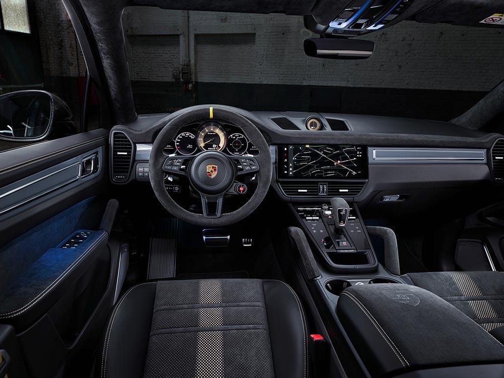 Porsche cayenne turbo gt 6