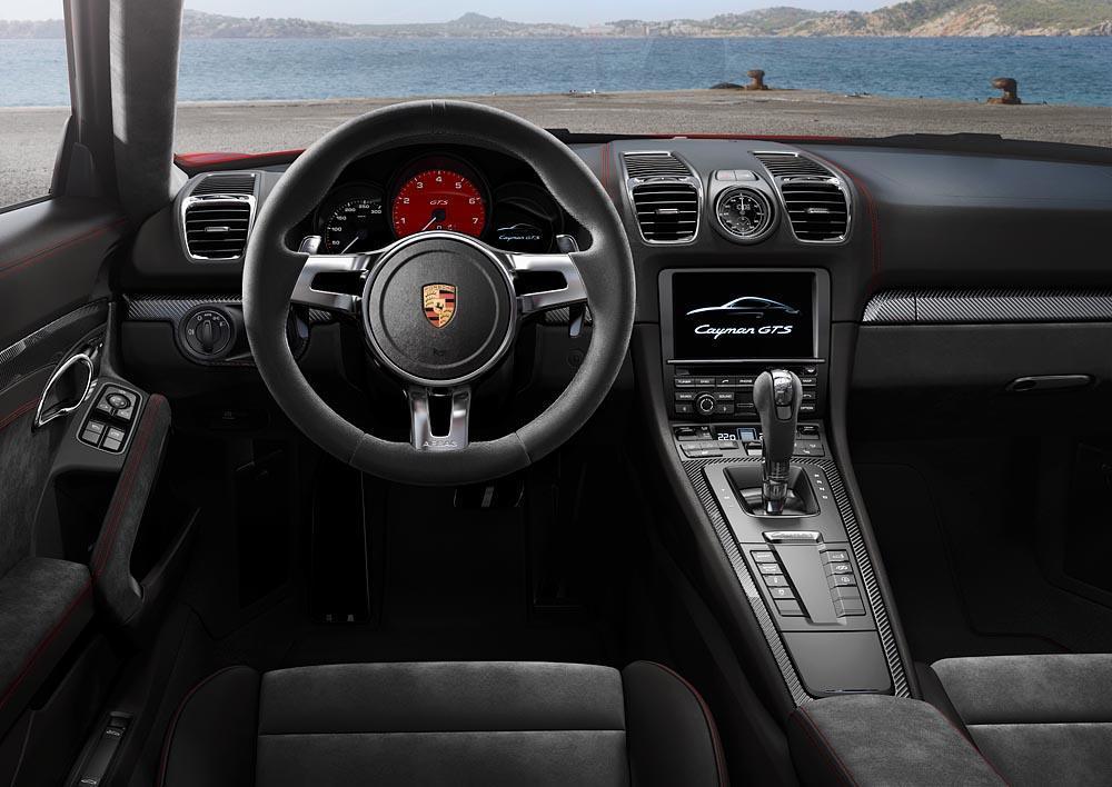 Porsche cayman 981 gts interieur