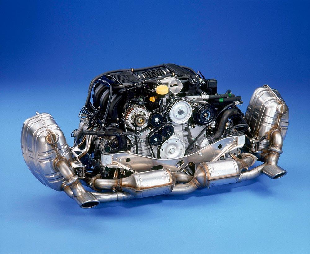 Porsche flat 6 engine