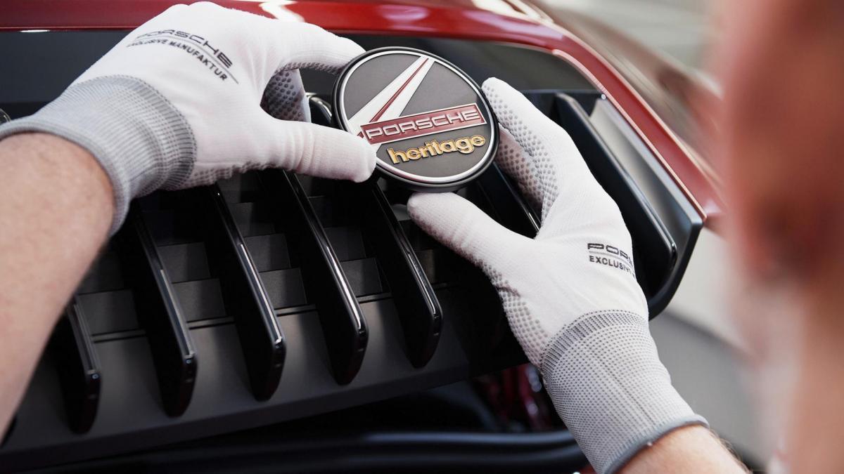 Porsche heritage