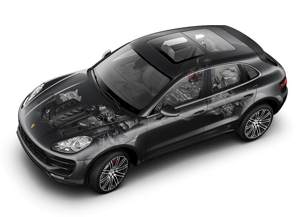 Porsche macan s diesel eclate