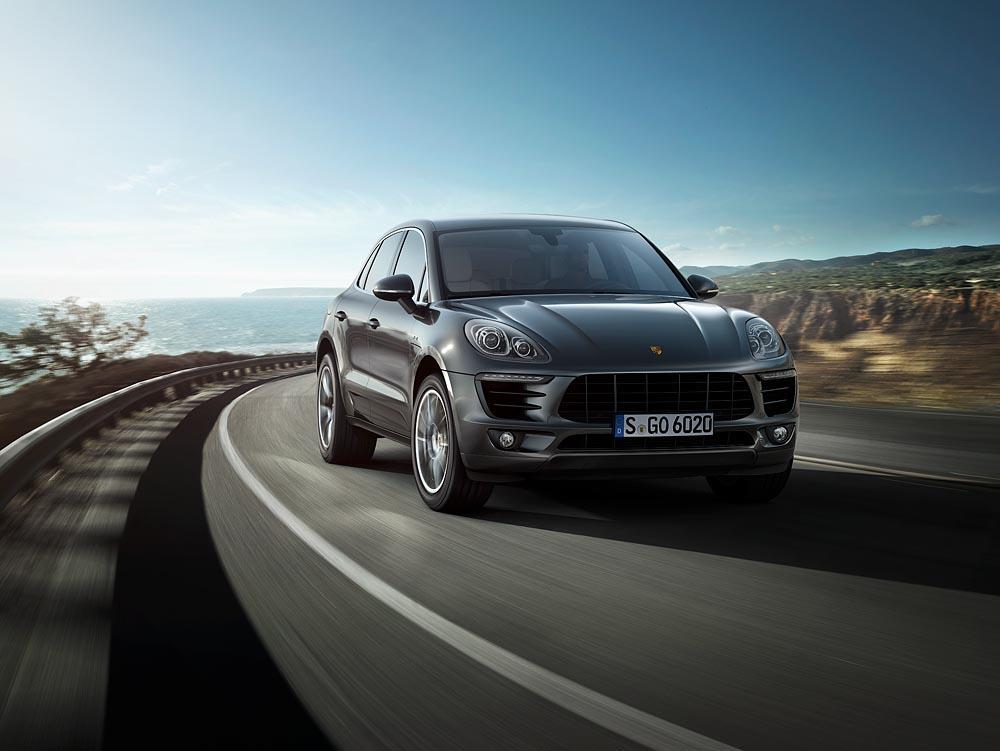 Porsche macan s diesel gris avant