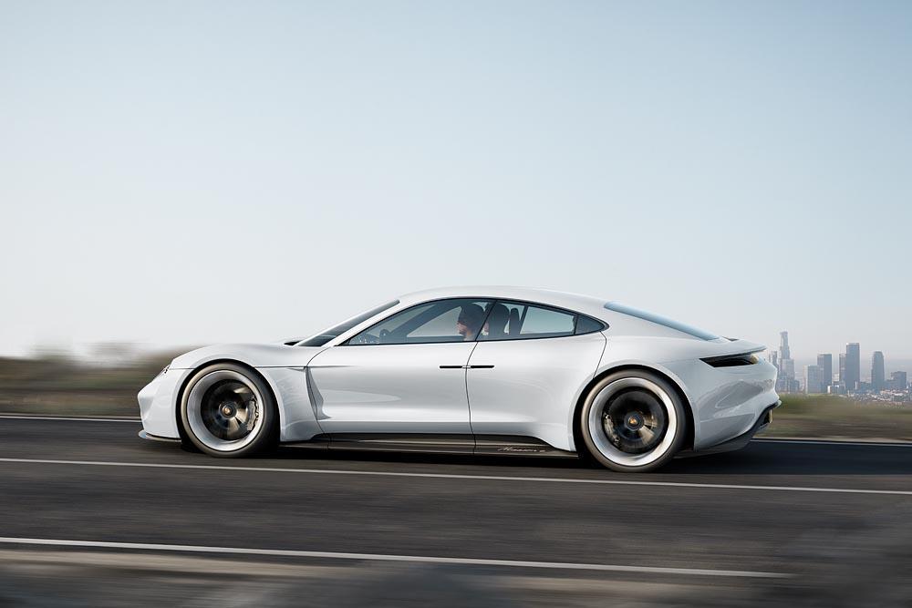 Porsche mission e concept study