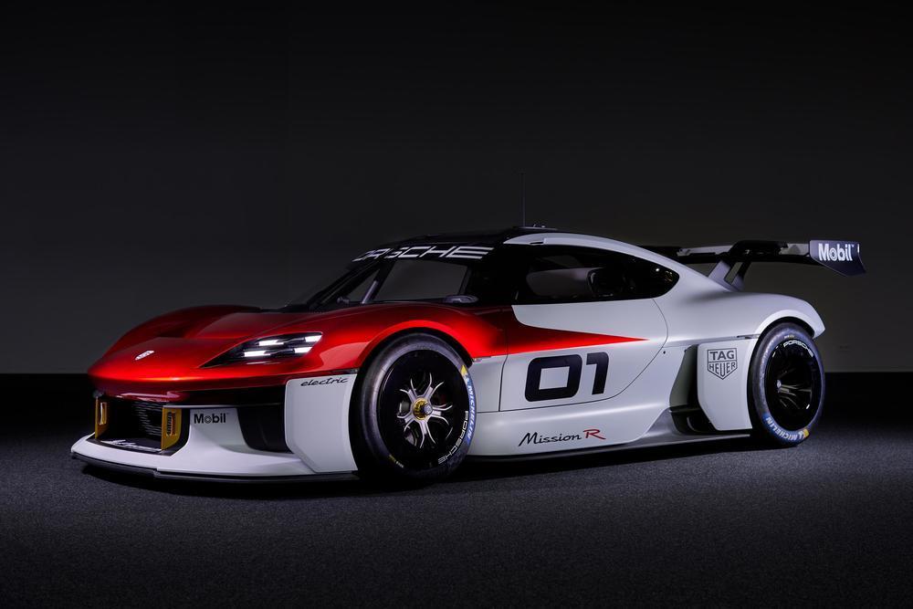 Porsche mission r concept 4
