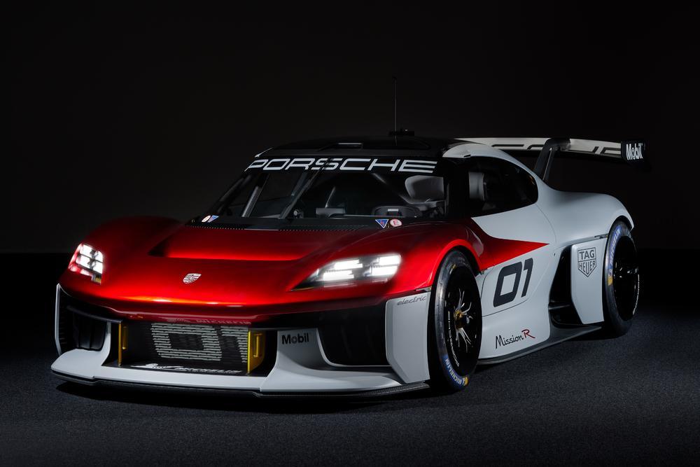 Porsche mission r concept 7