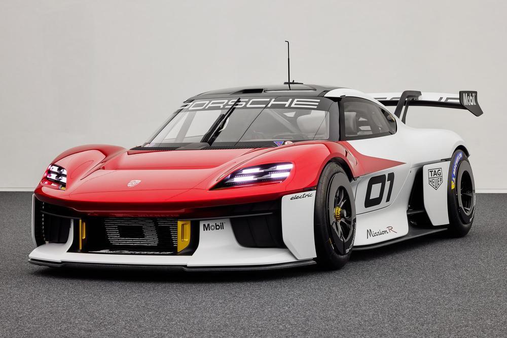 Porsche mission r concept 8
