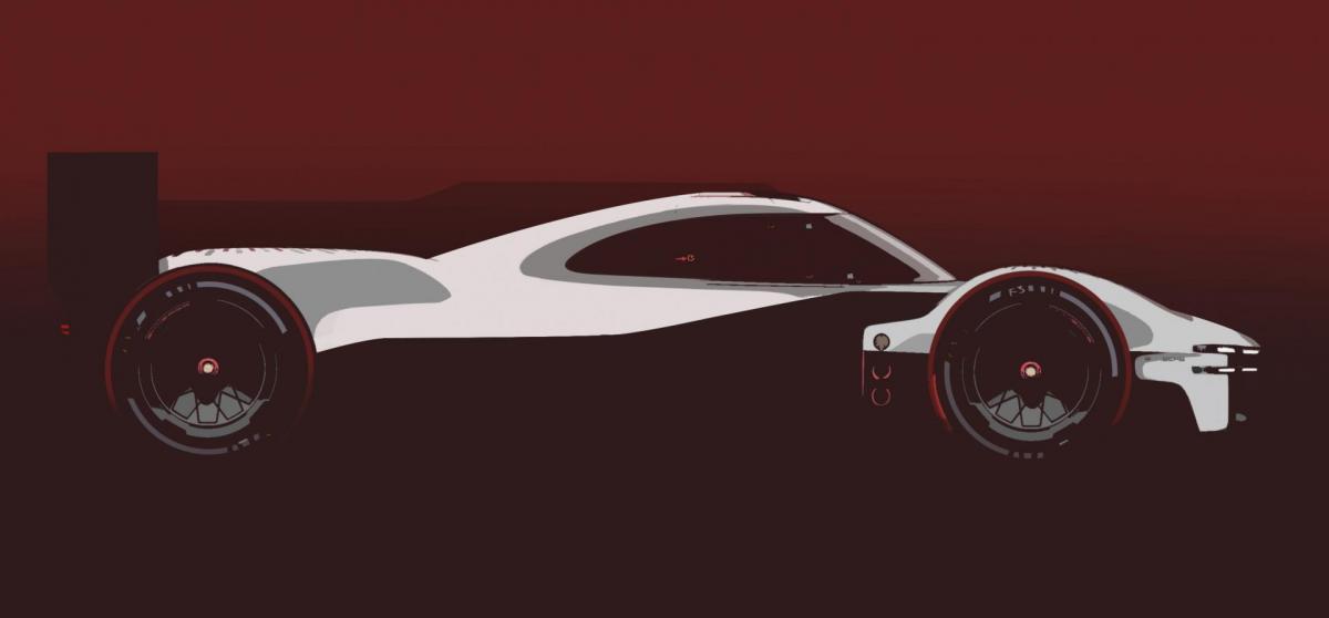 Porsche motorsport lmdh le mans 2