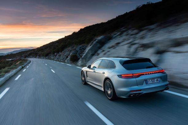 Porsche panamera 4s e hybrid arriere
